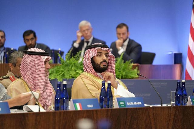 Saúdskoarabský následník trůnu Mohamed bin Salmán