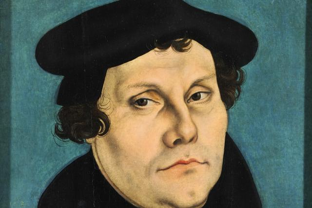 Lucas Cranach: Martin Luther | foto: Wikimedia Commons CC-BY-3.0