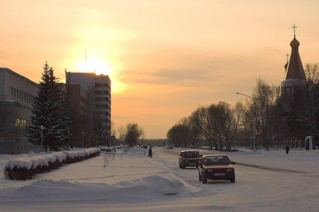 Uzavřené město Seversk