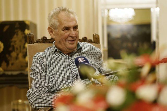 Český prezident Miloš Zeman | foto: Khalil Baalbaki,  Český rozhlas