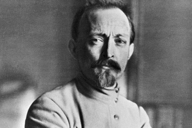 Felix Dzeržinskij,  zakladatel a velitel Čeky   foto: Wikimedia Commons,   RIA Novosti archive,  image #6464 / RIA Novosti / CC-BY-SA 3.0