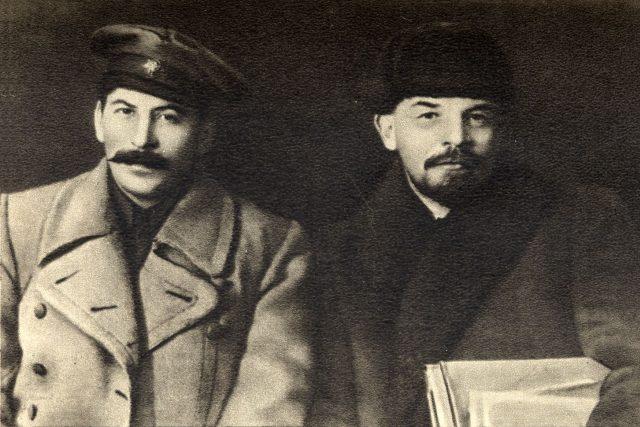 Lev Borisovič Kameněv a Vladimir Iljič Lenin kolem roku 1922 | foto: Public domain,  Wikimedia Commons