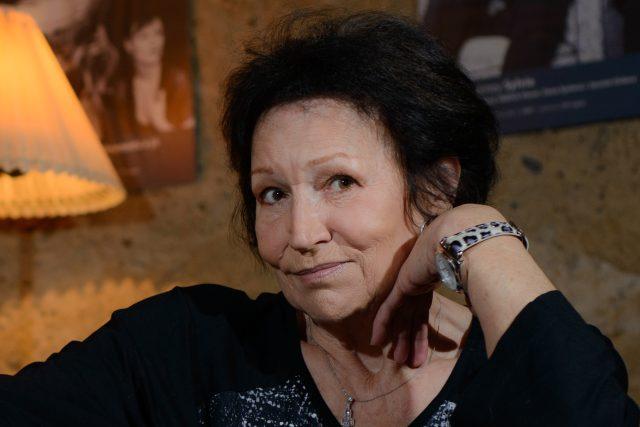 Marta Kubišová v Divadle Unglet