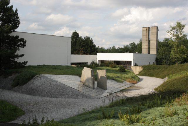 Ústí nad Labem - nové krematorium na Střekově
