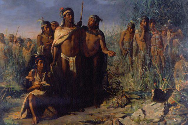 Aztékove zakládají Tenochtitlán