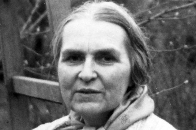 Milada Blekastadová v Dobřichovicích kolem roku 1980  | foto:  CC BY-NC 4.0,   Frigg