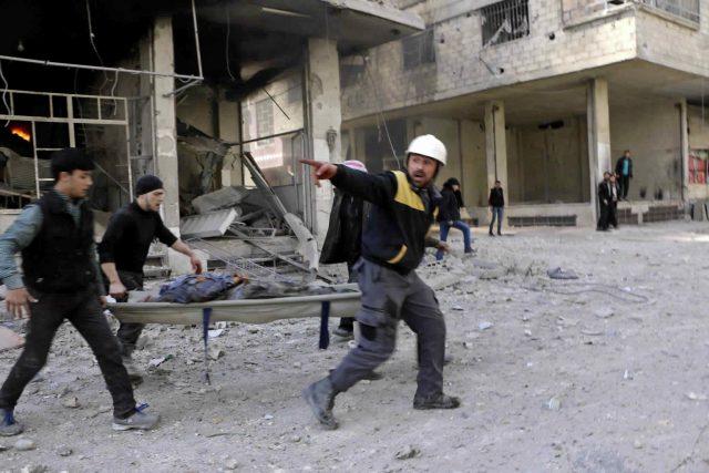 Východní Ghúta je východní předměstí Damašku