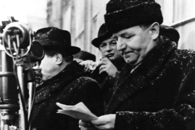 Klement Gottwald | foto: Archivní a programové fondy Českého rozhlasu