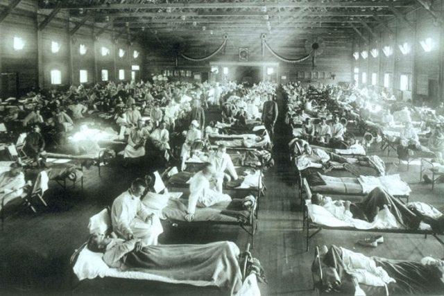 Španělské chřipce podléhali často mladí a do té doby zdraví lidé | foto: Wikipedia,  public domain - volné dílo, Wikimedia Commons, CC0 Public domain
