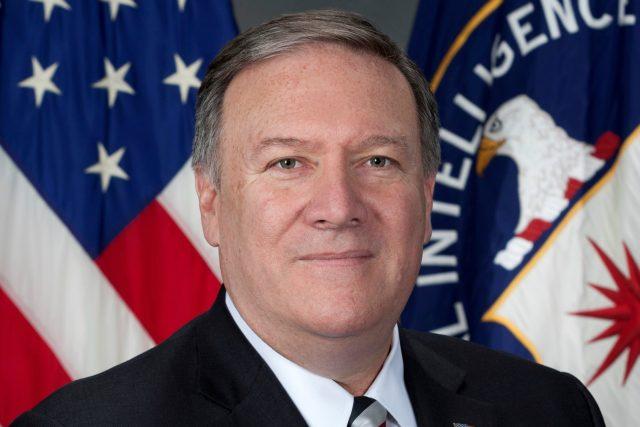 Bývalý ředitel CIA Mike Pompeo