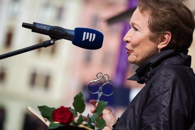 Hana Maciuchová na festivalu Prix Bohemia Radio 2016