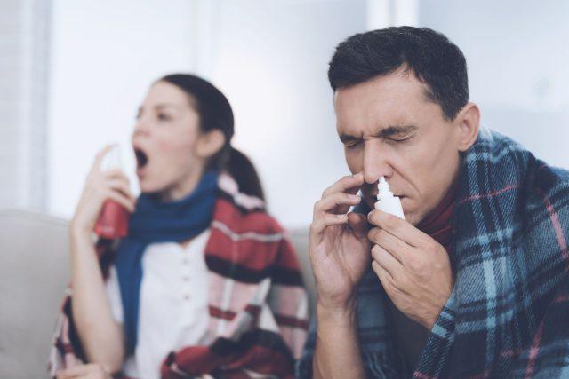 Nachlazení; chřipka (ilustrační foto)