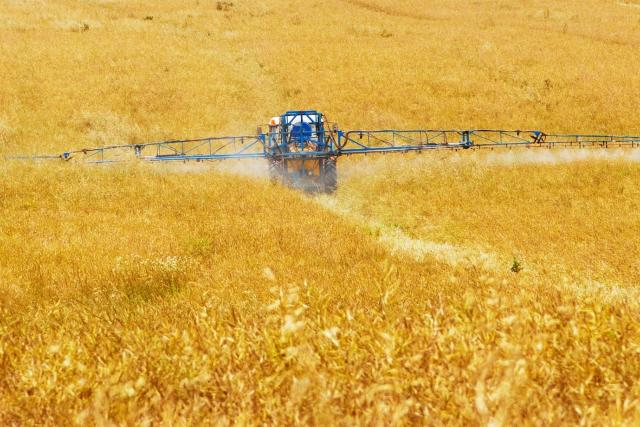 Chemie v zemědělství (ilustrační foto)