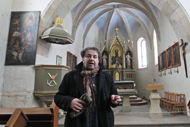 Básník, spisovatel a publicista Miloš Doležal v Čihošti