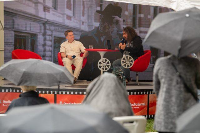 Radiožurnál během festivalu vyzpovídá řadu hostů   foto: Khalil Baalbaki,  Český rozhlas,  Český rozhlas