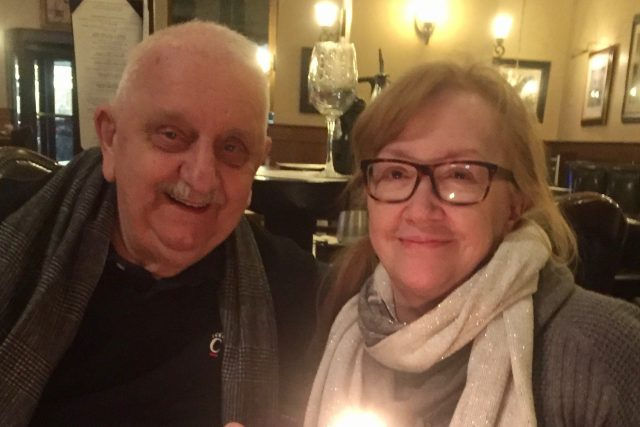 Trumpovi voliči Oliver Guňovský a Monica Rokus