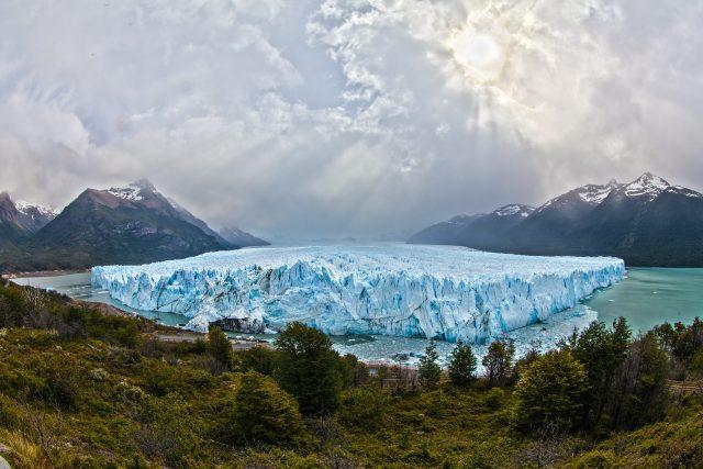Ledovec Perito Moreno v argentinské Patagonii