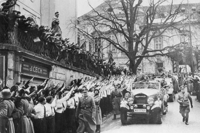 Připojení Československa k německé říši jako protektorátu Čech a Moravy, březen 1939