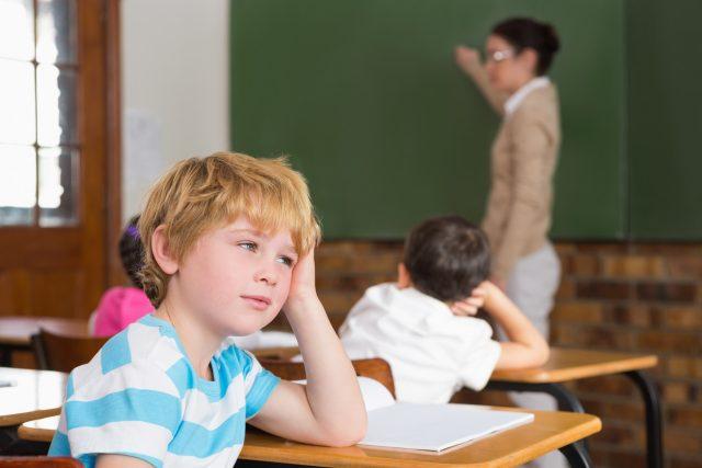 Máte probém soustředit se ve škole?