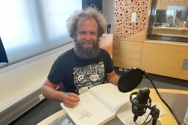 Štěpán Hon,  host Hovorů   foto: Vlastimil Ježek