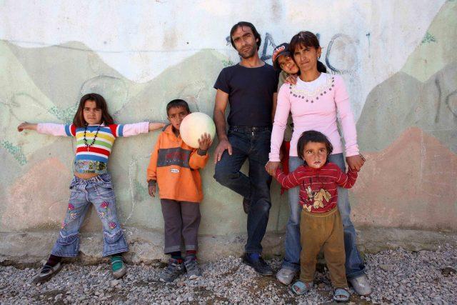 Romové, ilustrační foto
