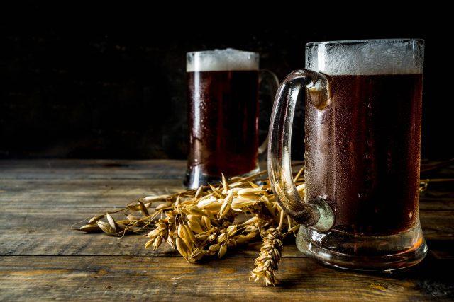 Pivo, půllitr (ilustrační foto)
