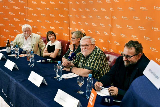 Debata: Slavná šedesátá, Český rozhlas Plus, Mezinárodní filmový festival Karlovy Vary