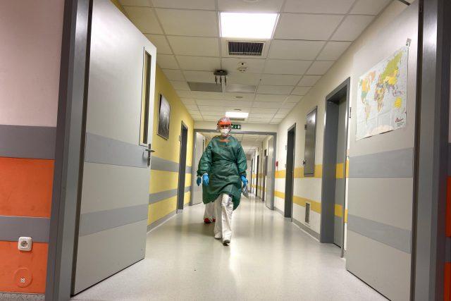 Urgentní příjem pražské Fakultní nemocnice v Motole