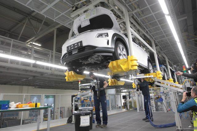 Výroba aut v Nošovicích
