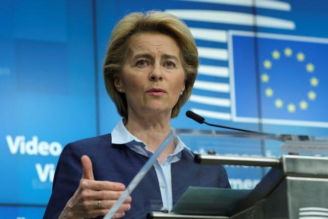 Předsedkyně Evropské komise Ursula von der Leyenová | foto: Fotobanka Profimedia