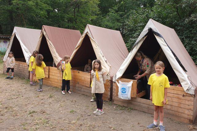 Dětský tábor (ilustrační foto)