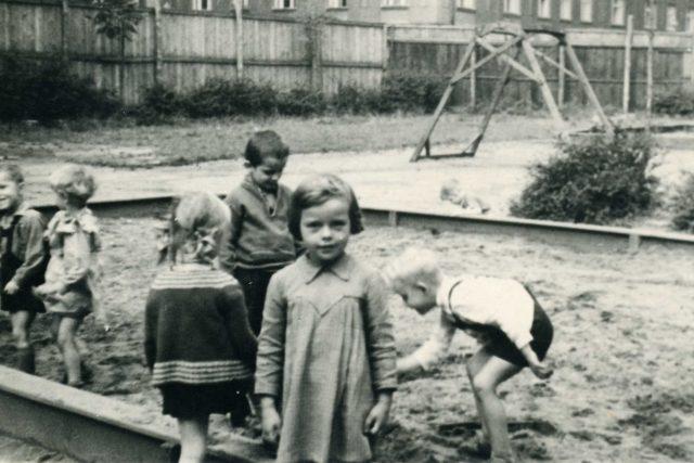 Děti v 50. letech