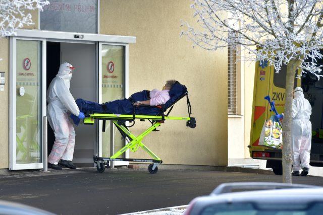 Přetížená nemocnice v Chebu přemisťuje několik pacientů s covidem-19 do nemocnic v Mariánských Lázních, Rakovníku či v Praze