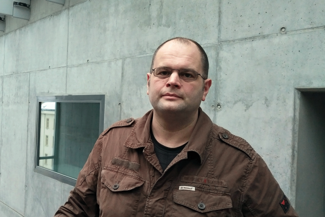 Daniel Hůle, host pořadu Hovory