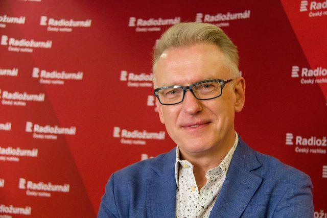 Mariusz Szczygieł,  polský novinář a spisovatel | foto: Anna Duchková,  Český rozhlas