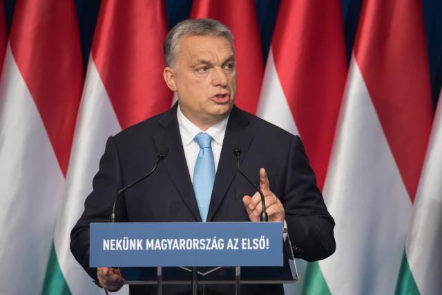 Předseda maďarské vlády Viktor Orbán.