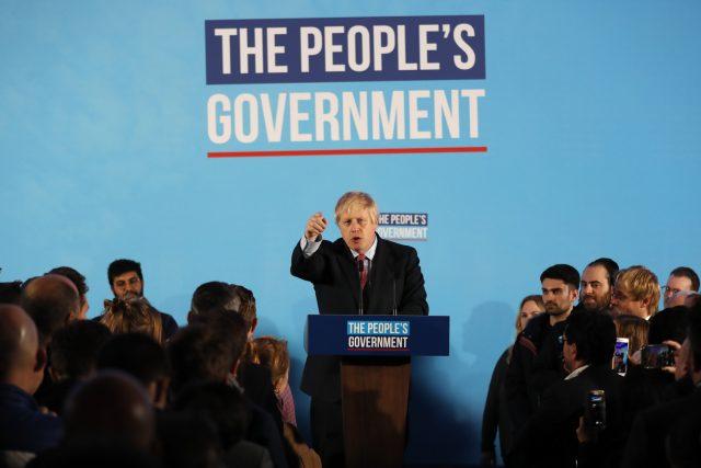 Vítěz voleb Boris Johnson