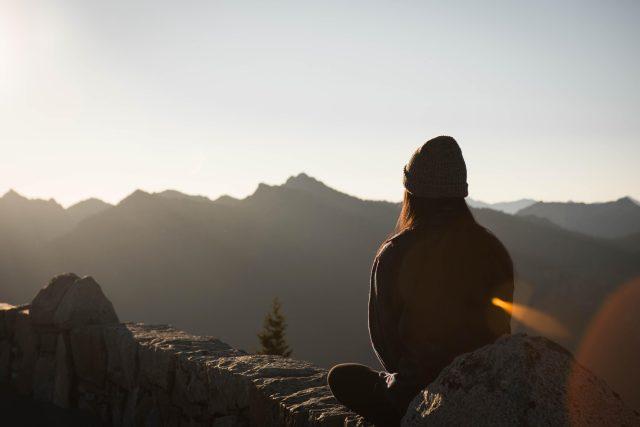 Meditace - klid - zklidnění - mindfulness