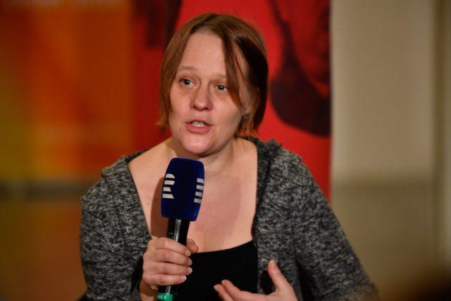 Novinářka Saša Uhlová