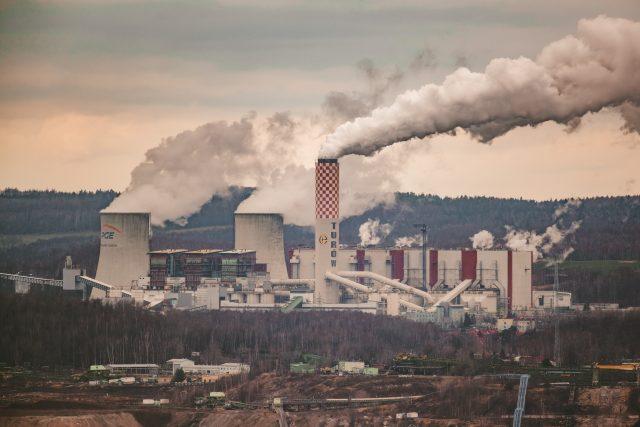 Polská elektrárna Turów