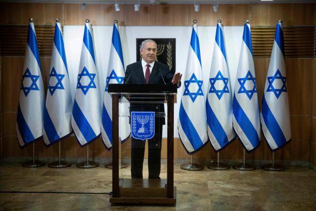 Izraelský premiér Benjamin Netanjahu   foto: Fotobanka Profimedia
