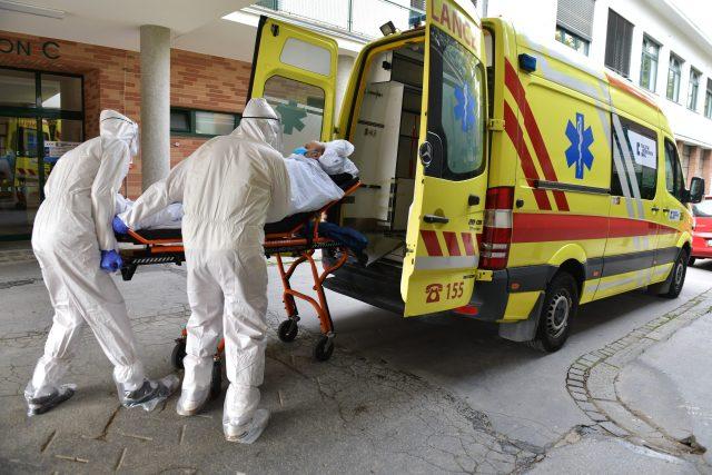 Převoz pacienta (ilustrační foto)