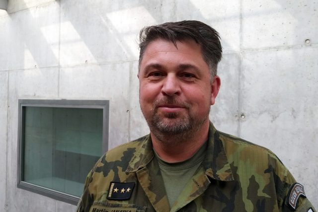 plukovník Martin Janatka,  host pořadu Hovory | foto: Bohumila Reková