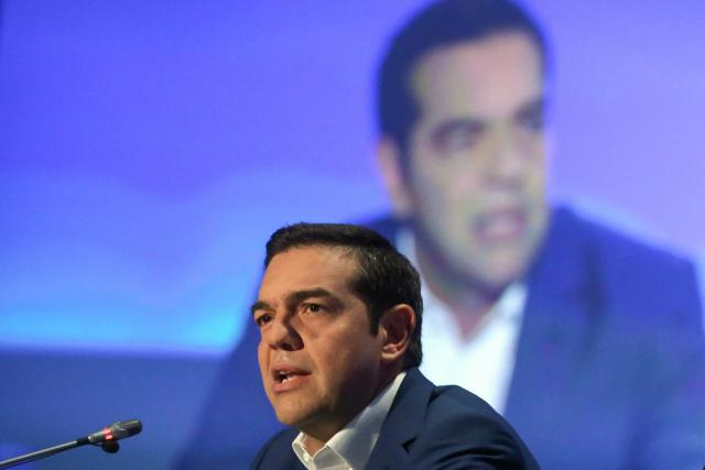 Řecký premiér Alexis Tsipras | foto: Fotobanka Profimedia