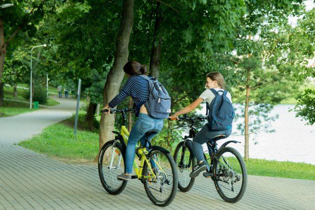 Hradec Králové je rájem cyklistů. Člověk se dopraví na kole za 15 minut z jednoho konce na druhý  (ilustrační foto)   foto: Fotobanka Pixabay