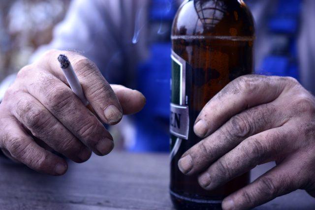 Alkoholismus (ilustrační foto)