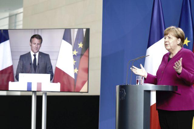 Německá kancléřka Angela Merkelová navrhla spolu s francouzským prezidentem Emmanuelem Macronem nový záchranný fond ve výši půl bilionu eur na pomoc unijním zemím tvrdě zasaženým dopady koronakrize