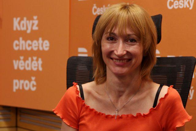Česká primabalerína Daria Klimentová