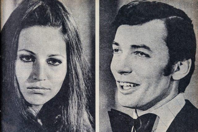 Marta Kubišová a Karel Gott v roce 1968