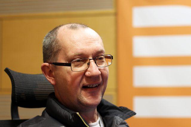 Katolický kněz a bývalý šéfredaktor nakladatelství Portál Zdeněk Jančařík